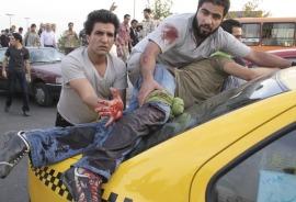 یکی از هموطنان تیر خورده امروز