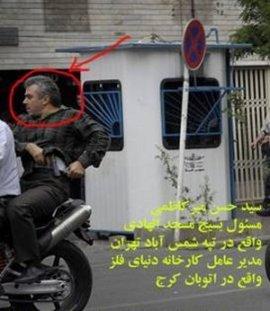 سید حسن میرکاظمی, مسئول بسیج مسجد الهادی واقع در تپه شمس آباد تهران, مدیر عامل کارخانه دنیای فلز واقع در اتوبان کرج
